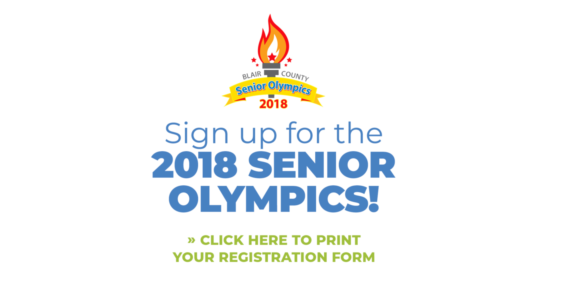 Read more about Sign up for the 2018 Senior Olympics!